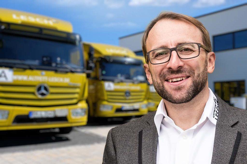 Heiko Lesch - Geschäftsführer Altfettrecycling Lesch
